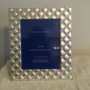 Sheffield Home Silver Plated Picture Frame NWOT